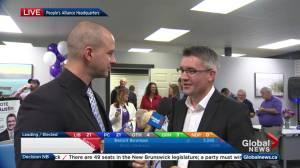 New Brunswick election: People's Alliance leader Kris Austin calls win 'fantastic'