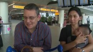 One family's incredibly close call with MH17
