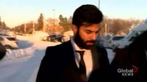 Jaskirat Singh Sidhu, truck driver in Humboldt Broncos crash, arrives for first day of sentencing hearing