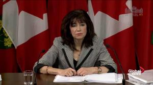 Auditor general says ad expenditures have risen; wouldn't have approved some ads