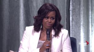'I don't want to leave': Michelle Obama charms crowds in Vancouver on book tour
