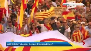 Will Catalonia's leader declare independence?