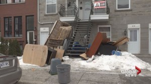 Saint-Henri garbage pile an eyesore for residents