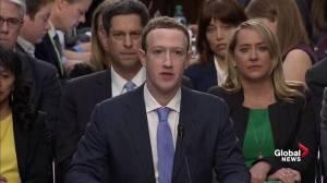 'I'm sorry': Mark Zuckerberg's apologizes in testimony statement to Senate committee