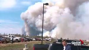 Fort McMurray emergency operations centre evacuated