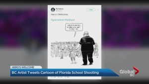 Vancouver artist's Florida cartoon goes viral