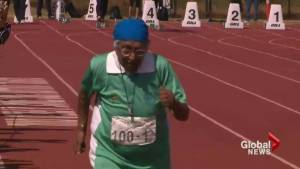 100 year-old sprinter proving age is just a number