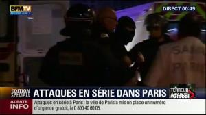Police officer carried out following assault on Bataclan theatre