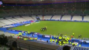 Stade de France evacuated by police