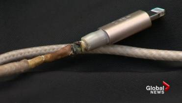 Electronic charging devices, cables can pose fire risk