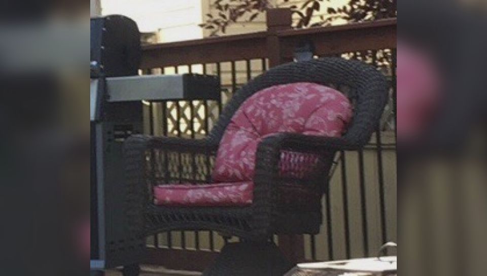 swivel chairs kijiji peterborough massage chair india hundreds of dollars worth patio furniture stolen from calgary family s front deck