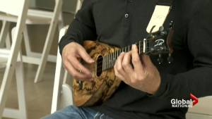 Ukulele festival highlights tiny instrument's big popularity