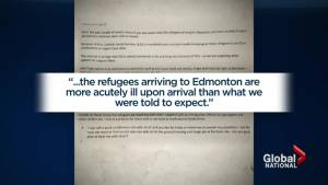 Edmonton health official says ill Syrian refugees overwhelming health centre
