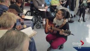 Healing people young and old with music therapy