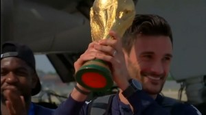 France returns home after World Cup victory