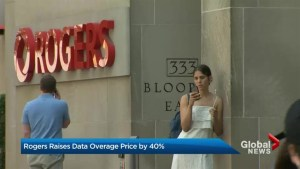 Rogers responds to raising data overage fees