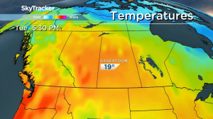 Saskatoon weather outlook: multiple 20 degree days on the way