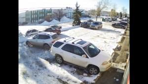 WATCH: Raw video of Calgary's worst driver