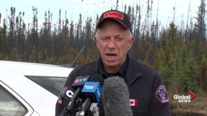 Darby Allen issues message to Fort McMurray residents wondering why they can't return home