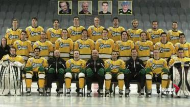 Humboldt Broncos unveil 29 banners to honour victims of bus crash ... 42caf5cf7