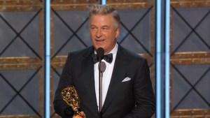 Alec Baldwin wins Emmy Award for description of Donald Trump on SNL