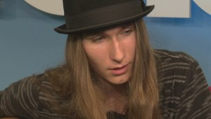 Sawyer Fredericks performs Hide Your Ghost on Global News Morning