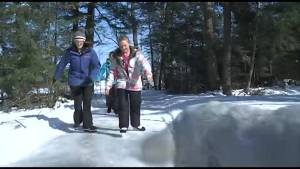 Two-kilometre skating trail now open in Keene