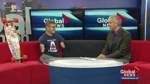 Alberta athlete to take part in Edmonton Marathon without arms or legs