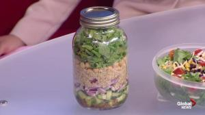 A registered dietitian shares creative ideas for workday lunches