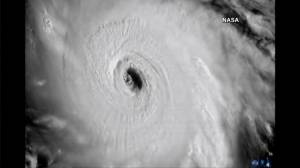 Images from space show size of massive Hurricane Irma