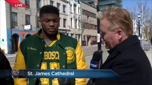 Former member of Don Bosco football team pays respects to their coach Rob Ford