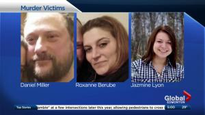 Alberta man sentenced in triple homicide