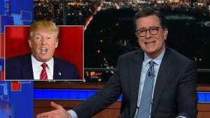 Stephen Colbert slams Donald Trump's reaction to U.S. climate change report