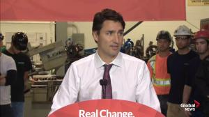 Trudeau announces big investment in tech sector, training and jobs