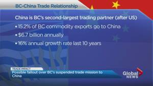B.C. suspends trade mission to China in wake of Huawei CFO arrest
