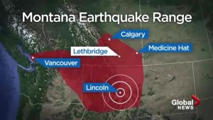 Earthquake that rattled Montana felt in Southern Alberta