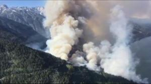 2 wildfires grow rapidly in size marking an early start to fire season
