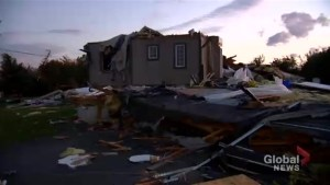 People left homeless after tornado strikes Ottawa area and Quebec