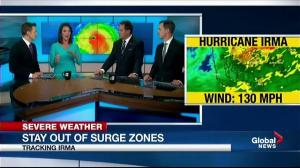 'Is anybody else freaked out': News anchor fearful of Irma storm surge