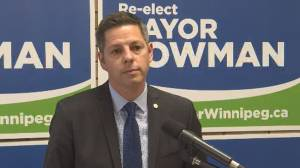 Winnipeg mayor warns road improvements at risk (00:44)