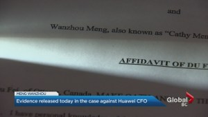 New evidence in Meng Wanzhou case
