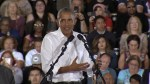 'Don't boo, vote!': Obama rallies for Democrats ahead of midterm elections