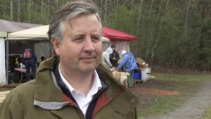 B.C. MP Kennedy Stewart on why he is protesting at Kinder Morgan facility (02:30)