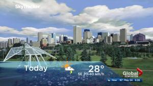 Edmonton early morning weather forecast: Thursday, May 24, 2018