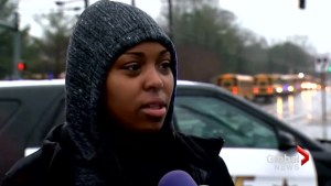 Maryland student left frustrated by shooting : We just had a walkout about gun violence