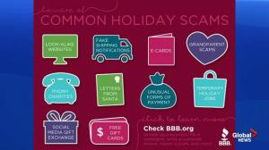 Advice for avoiding holiday scams