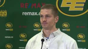 'It's a big deal': Edmonton Eskimos QB Trevor Harris on joining team