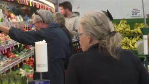 Grocery store owner says he will continue to open up on stat holidays