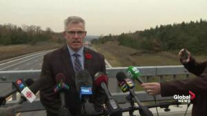 Miracle more lives weren't lost: OPP Commissioner on Hwy 400 crash