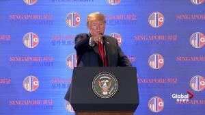 Trump-Kim summit: Trump calls prisoners locked in North Korean camps 'great winners'